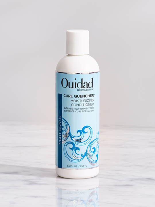 Buy conditioning products for tight curls, Ouidad Curl Quencher Moisturizing Conditioner.